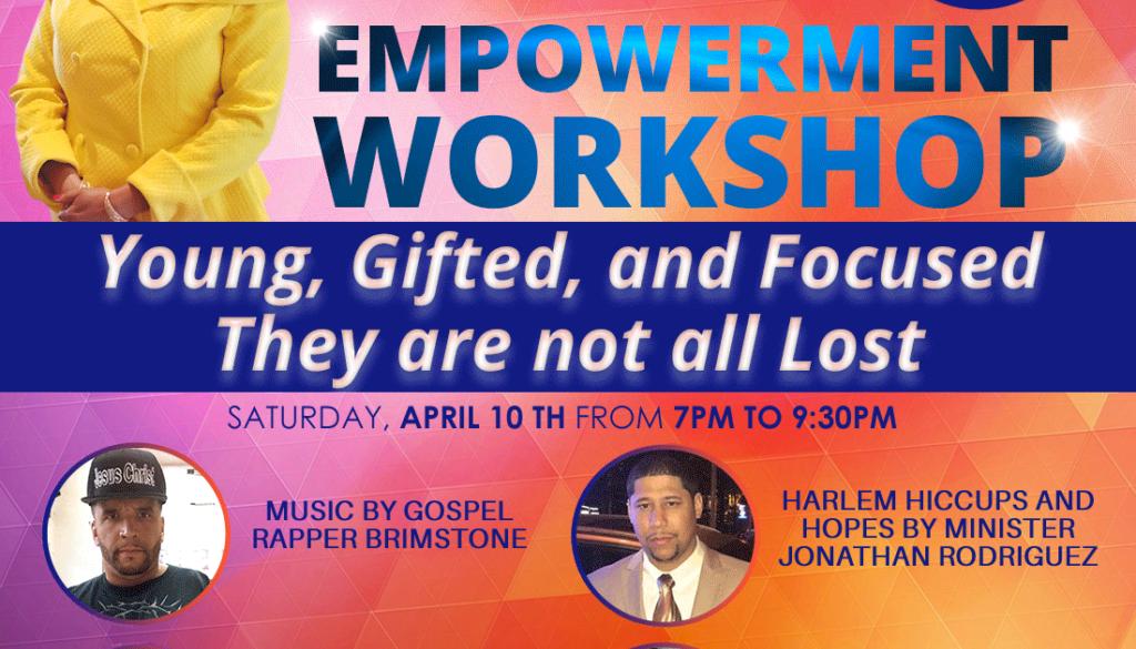 April 10th Workshop Flyer